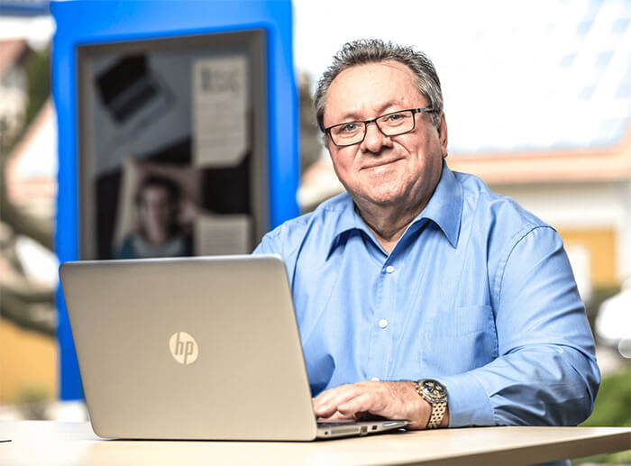 Hans Jürgen Teichert Vertriebsassistent für Watermann-Zink und Firmenkundenbetreuer